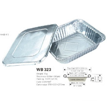Aluminium Foil Dairy Food Container With Lid