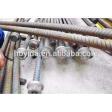 Cost effective rebar anchor plate