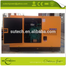 Offen / leise 30Kva CUMMINS leiser Generatorsatz, angetrieben durch CUMMINS 4B3.9-G2 Motor
