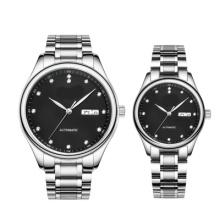 Alloy Case Japão Quartz Movement Couple Relógios de Presente