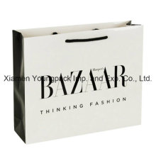 Luxury Gloss Laminate Rope Handle Paper Gift Packaging Bag