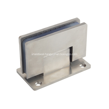 Stainless steel glass door hinge for glass door