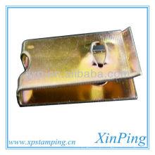 Peças usinadas de metal bronze para termostato