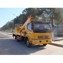Dongfeng van trailer mounted cherry picker for sale