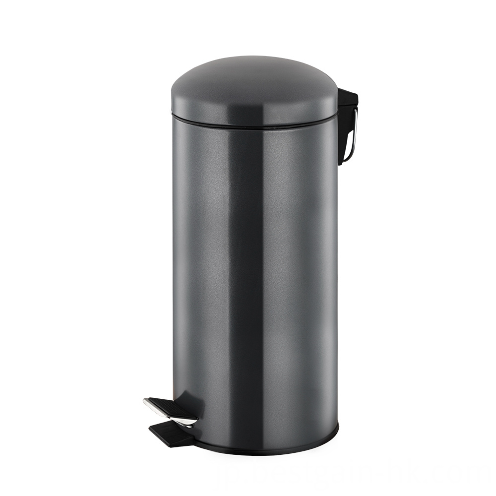 30L Trash Bin with Dome Lid