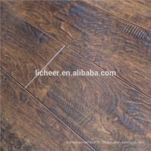 Intérieur Revêtement de sol stratifié EIR fabricants de surface Chine parsemé d'un sol en bois imité / sol stratifié à simple clic