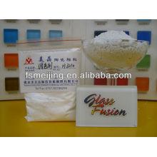 poudre blanche laiteuse pour pigment