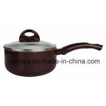 Utensilios de cocina Utensilios de cocina de aluminio de cerámica / Non-Stick Milk Pot