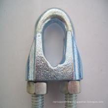 High Quality Galvanized DIN741 Wire Rope Clips