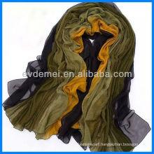 Fashion graceful colorful silk pashmina