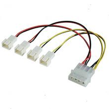 Câble électrique de ventilateur avec le connecteur de Molex 4pin