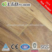 6mm/7mm/8mm waterproof laminate parquet flooring price in China