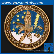 customize metal 71st Special Operations Squadron unit challenge coin