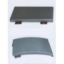 Painéis de teto de alumínio não perfurados suspensos