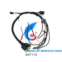 Piezas de motocicleta Arnés de cables de motocicleta para Akt110