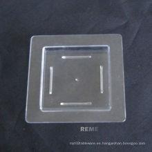Disco de plástico platillo desechable Mini plato Quare