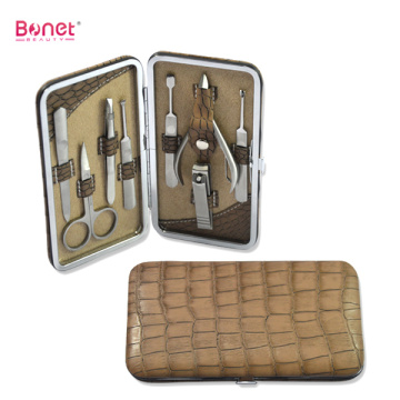 8 pcs high end profissional manicure pedicure set