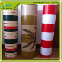 High Strength PVC Stripe Tarpaulin (RJCT004)