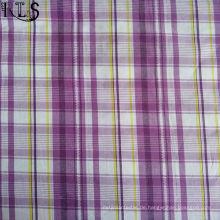 100% Baumwollpopeline gewebtes Garn gefärbtes Gewebe für Hemden / Kleid Rlsc50-23