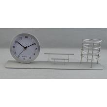 Подарок алюминиевый часы для банка (DZ35)