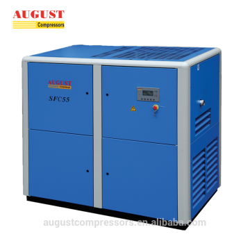 AGOSTO 55KW 75HP VSD Screw Compressor de ar