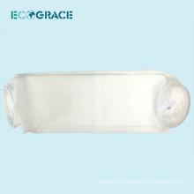 Excellent abrasion performance 100 micron Liquid PE Filter pocket