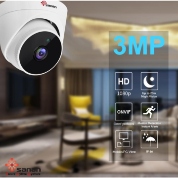 Câmera IP CCTV Amazon 3MP