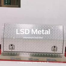 """Caja de herramientas de cama de pastillas de aluminio de 72 """"de EE.UU."""