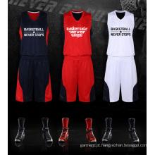 Fábrica do OEM personalizado Basketball Set Sport Tracksuit