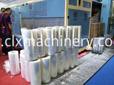 machinery rolll stretch film equipment