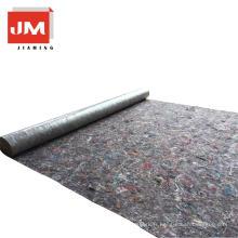 tapis non tissés feutre stratifié tapis de sol en coton avec feuille d'étanchéité