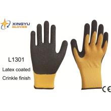 10g acrílico Shell látex recubierto guante de trabajo de seguridad (L1301)