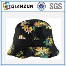 Kundenspezifisches Design Label Logo Beliebte Blumen Eimer Cap