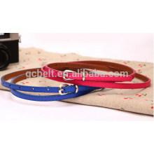 Fashion PU garment belt