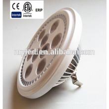 110 * H71mm AC / DC 12V Горячая лампа продажи ar111 10W G53 / GU10 CE Утверждение RoHS