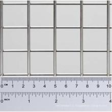 Treillis métallique soudé avec trou carré