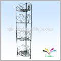 Iron Wire Flower Pot Stand metal wire garden tall flower stand