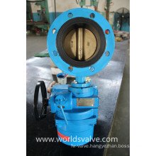 Double Flange Butterfly Valve with Electrical Actuator (WDS)