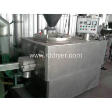 High - speed mixing granulator for salt