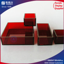 Best Selling Acrylic Serving Tray with Handle