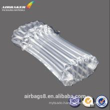 Inflatable air cushion column bag for toner cartridge