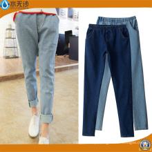 2018 Nova Moda Estiramento Skinny Cintura Alta Mulheres Denim Jeans