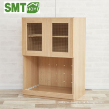 kitchen furniture storage cabinet modular with door and socket Japan