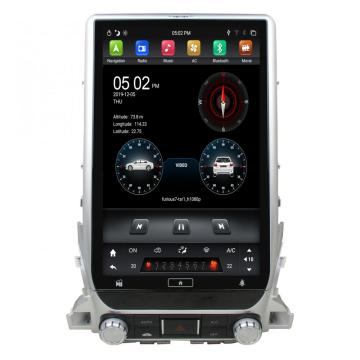 Android 13,3-inch Tesla-radio voor Land Cruiser 2016-2018