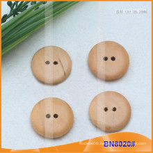 Natural Wooden Buttons for Garment BN8020