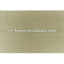 Silbernes Tuch / Silbernes Ineinander greifen / Silbernes Drahtgewebe / silbernes Poliertuch / Reines Silberdraht