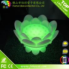 Flor de Lótus LED Decoração Luz
