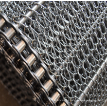 Food 304 Stainless Steel Wire Mesh Conveyor Belt For