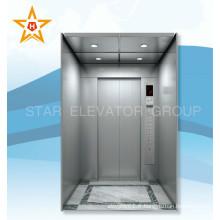 250KG 0,4 m / s accueil petit ascenseur pour 2 personnes