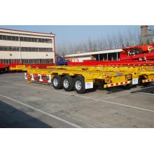40' Tri-axle Gooseneck Skeletal Semi-Trailer